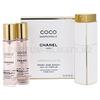 Фото Chanel - Coco Mademoiselle - Eau de Parfum - Парфюмерная вода для женщин - 3 x 20 мл, 1x Refillable + 2x Refill