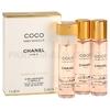 Фото Chanel - Coco Mademoiselle - Eau de Parfum - Парфюмерная вода для женщин - 3 x 20 мл, 3x Refill