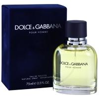 Скидка Dolce & Gabbana pour Homme (75 мл, Туалетная вода)
