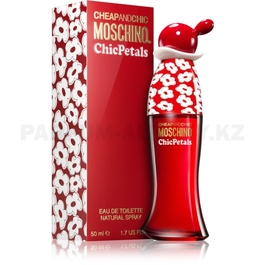 Фото Moschino - Cheap and Chic Chic Petals  - Eau de Toilette - Туалетная вода для женщин - 50 мл