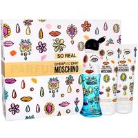 Скидка Moschino - Cheap and Chic So Real - Gift Set - Подарочный набор для женщин - Туалетная вода 50 мл + Молочко для тела 100 мл + Гель для душа 100 мл